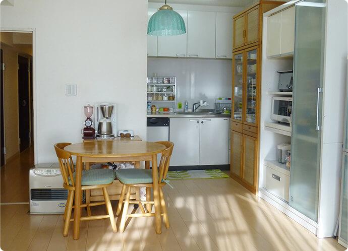 室内キッチン