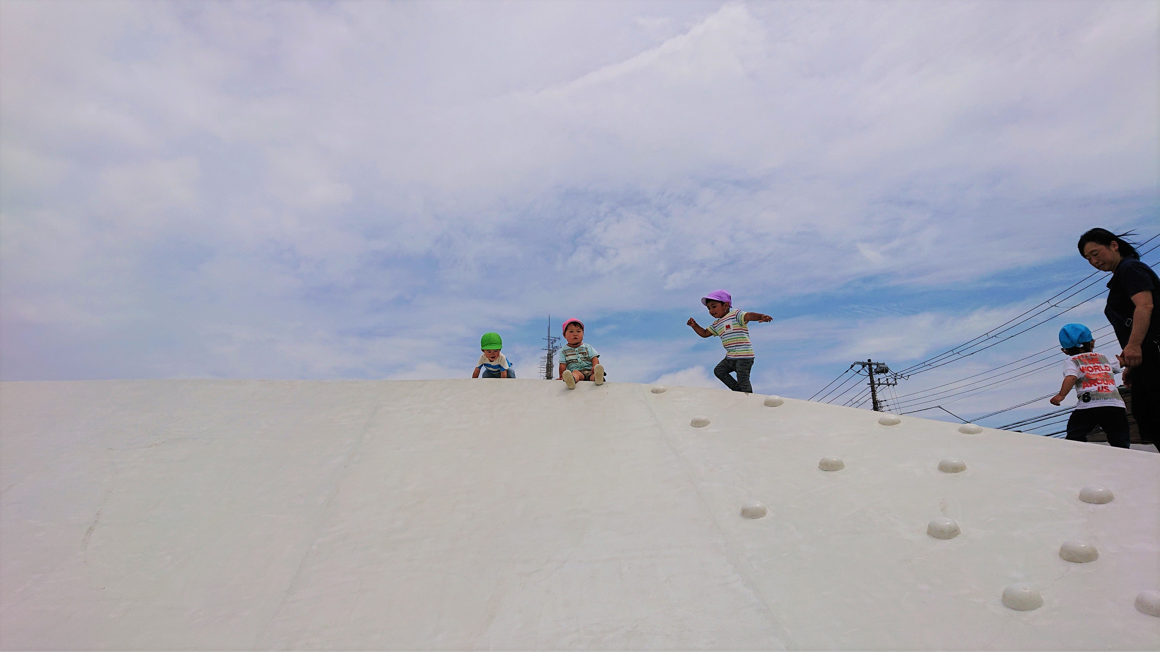 浦安公園滑り台1