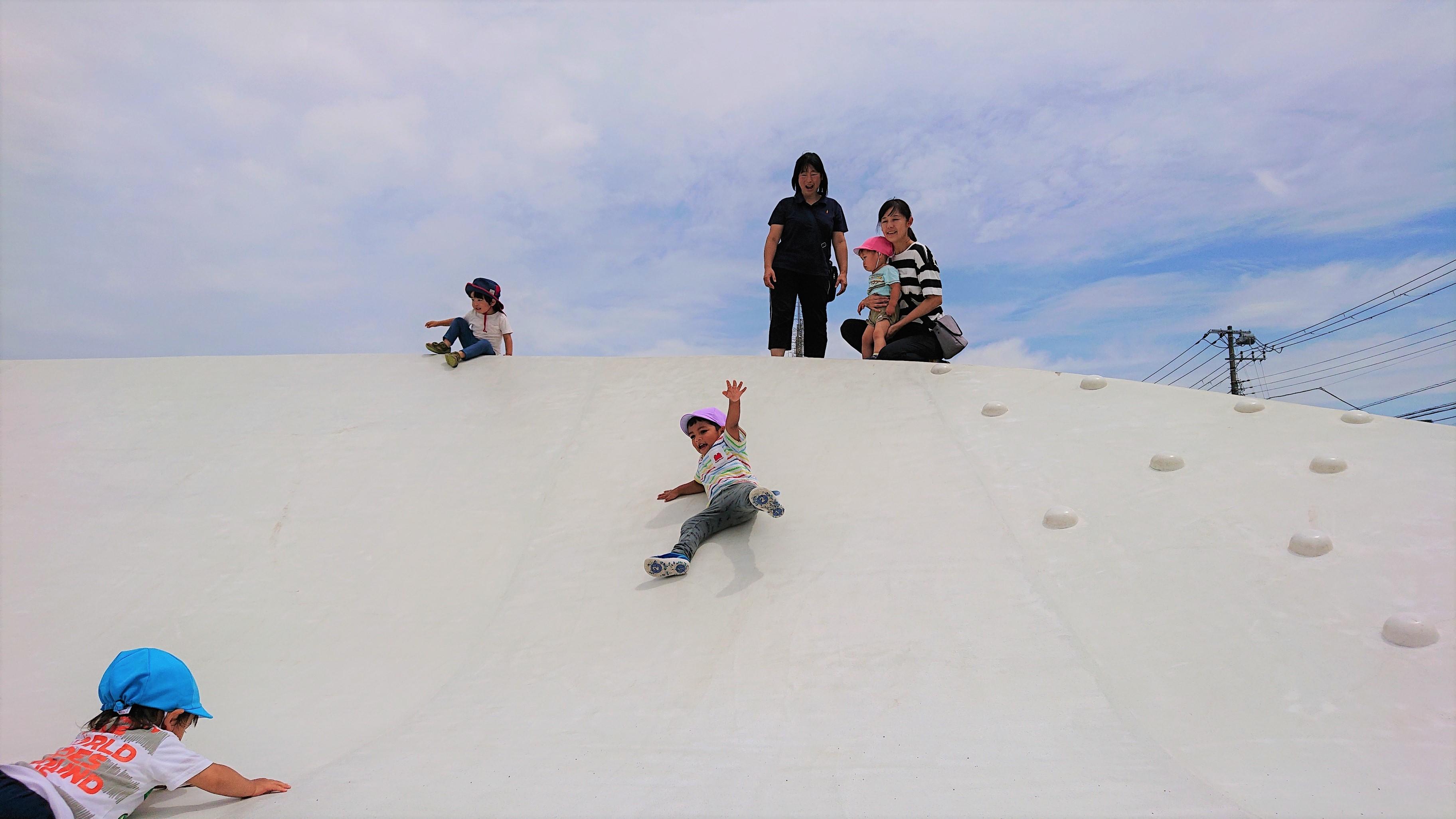 浦安公園滑り台2